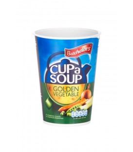 Batchelors Cup a Soup Golden Vegetable Sealcup (10 db zöldség leves)