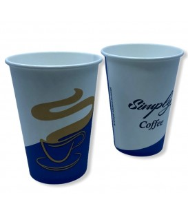 Papírpohár Simply Coffee - Vending 7oz (207 ml) 100 db (2 csík)