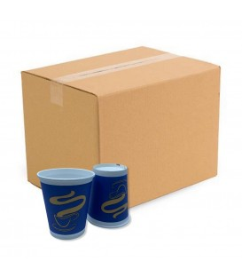 Papírpohár BLUE - Gold Coffee Cup - Vending 8oz (236,5 ml) 1.000 db (kartonnal)