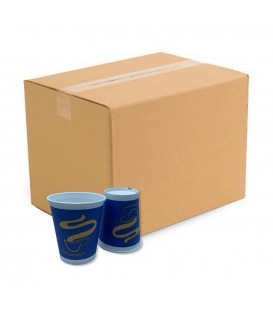 Papírpohár BLUE - Gold Coffee Cup - Vending 6oz (177 ml) 2.000 db (kartonnal)