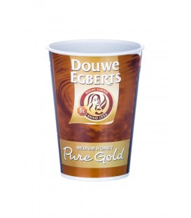 Douwe Egberts Pure Gold Coffee White Sealcup